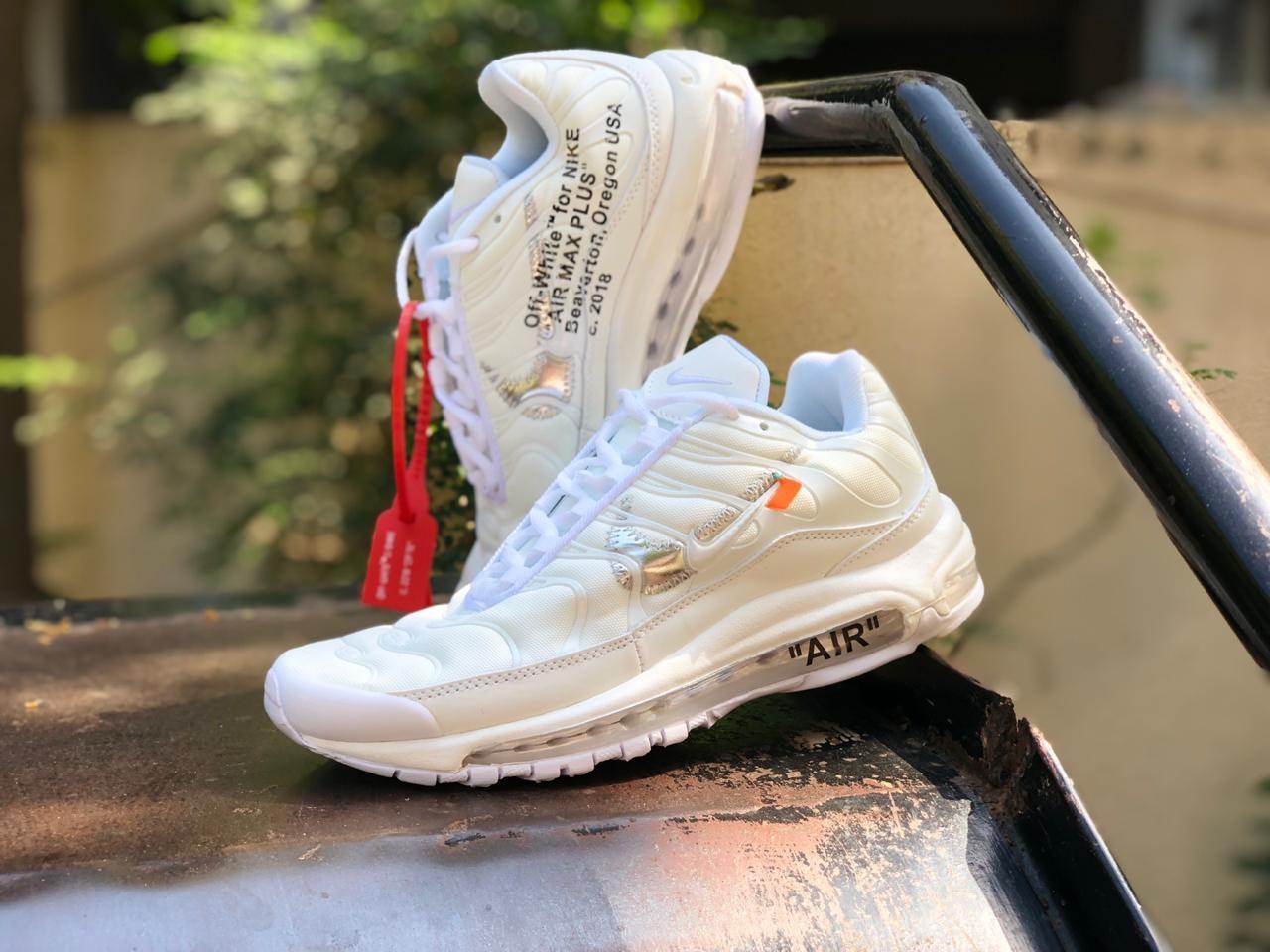 on sale c5de0 89b34 Off-White X Air Max 97 Plus TN 2019 Sneakers