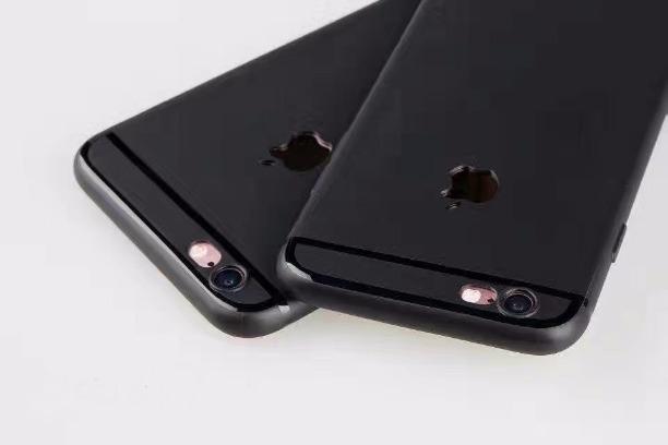 info for dde88 b57ee iPhone 6/s Plus Matte Finish Logo Cut Soft TPU Back Case