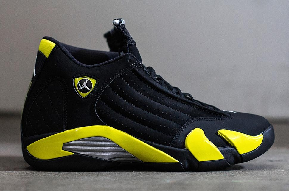 lowest price 3b40c bed14 Jordan Retro 14 Thunder