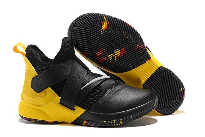 promo code 524e2 f8c60 LeBron Soldier 12 Cavs Shoes