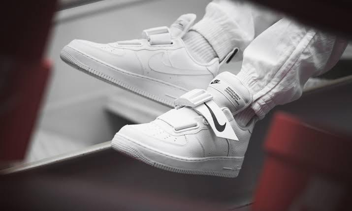 Nike Air Force 1 Utility WhiteWhiteBlack