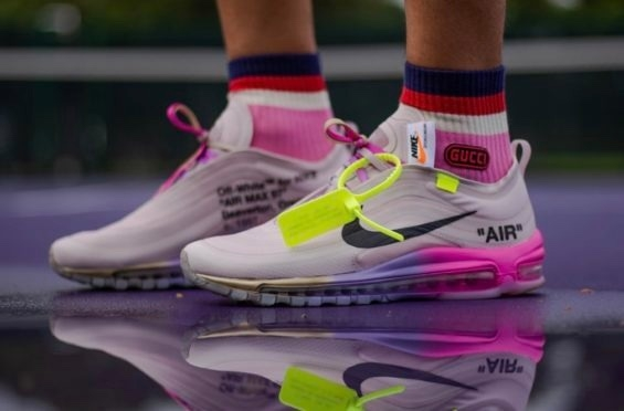 the best attitude 5672d 64c6e Nike✔️Air Max 97 Off-White Elemental Rose Serena