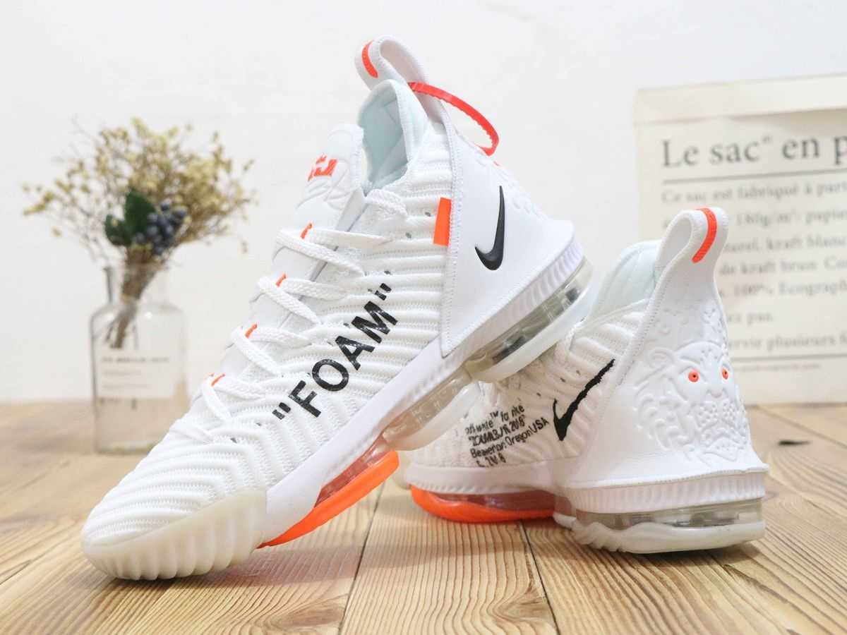 sale retailer 02aed 5306d LeBron 16 Off White Shoes 👟