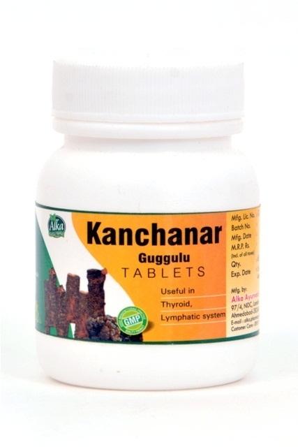 Kanchnar Guggulu Tablet