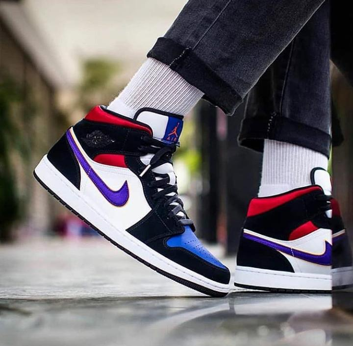 Jordan 1 Mid Lakers Top 3 Cheap Sale, UP TO 59% OFF